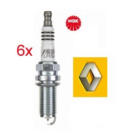 Bougieset (6x) Renault 3.0 V6 - 3.5 V6 - Iridium Bougies