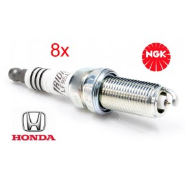 Bougie Set (8x) Honda Civic Insight 1.3 Hybrid TwinSpark | NGK Iridium IX