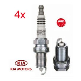 Bougie Set (4x) Kia Ceed Proceed | NGK Iridium IX ZFR5FIX-11 (2477)