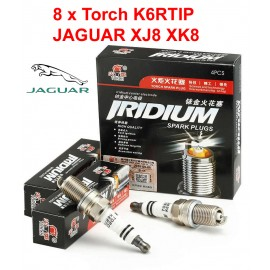 Bougieset 8xTorch K6RTIP Iridium - Platinum JAGUAR XJ8 XK8