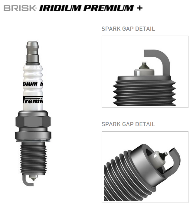BRISK Irdium Premium +